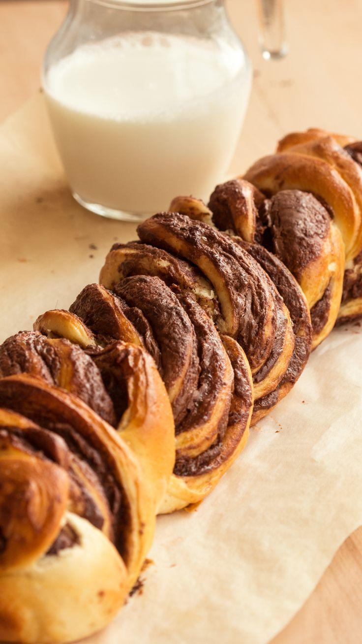 Nutella Braided Bread
