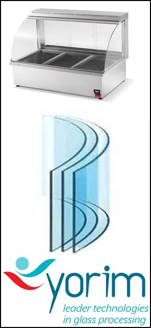 Curved glass fridge is made of float glass which is firstly heated to soften point on metal mould and then curved to shape by weight of glass itself and outside force, and finally cooled down. Curved tempered glass, however, is made by fast cooling down by special facility.  to know more about curved glass fridge please send us email, sales@cammerkezi.com