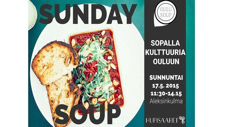 SundaySoup Oulu -projektien esityspohja