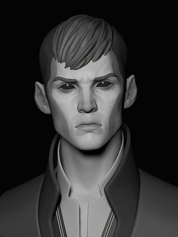 ArtStation - The Outsider / Speedsculpt / Dishonored, Assel Kozyreva
