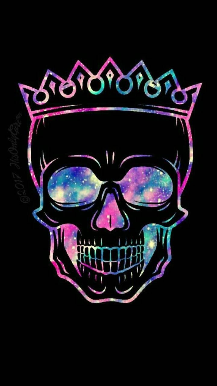 Download Crown Skull Wallpaper By Tw1stedb3auty 16 Free On