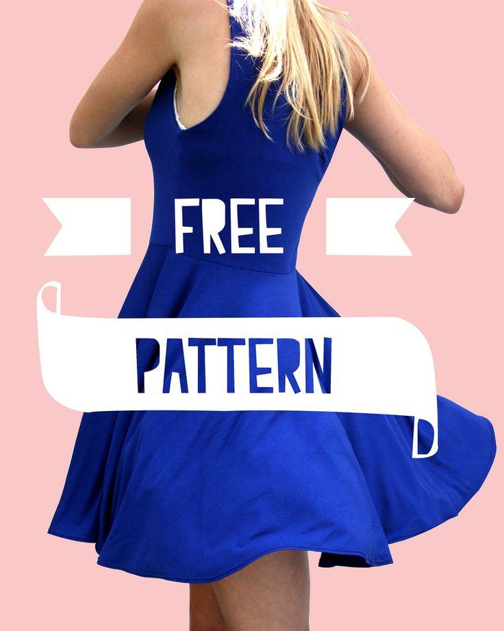 Een gratis patroon! Wil je dit ook maken, klik dan onderaan op 'downloaden'.  Deze keer gebruikte ik een iets dikkere tricot stof. Voor d...