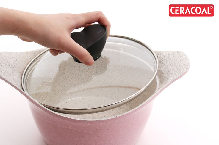 CERACOAL - Stockpot | trendy color | Stone marble | Durability