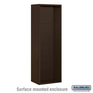 Surface Mounted Enclosure - for 3713 Single Column Unit - Bronze by Salsbury Industries. $360.00. Surface Mounted Enclosure - for 3713 Single Column Unit - Bronze - Salsbury Industries - 820996452948