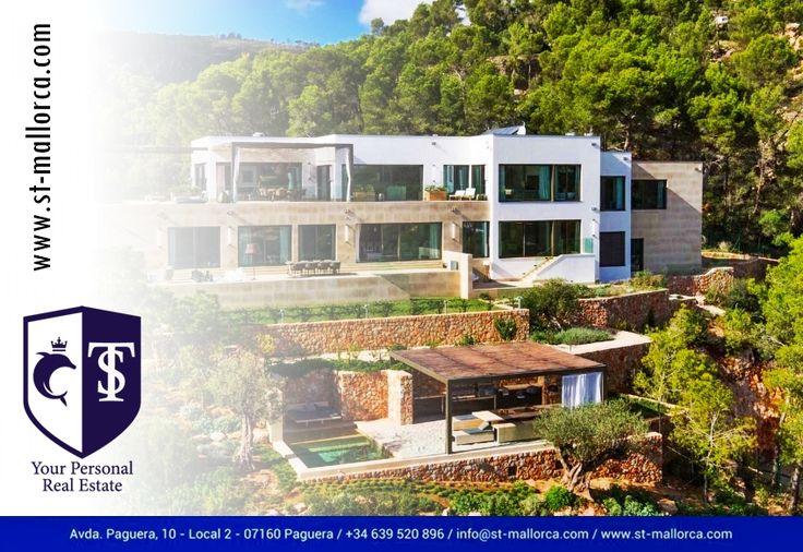 Immobilien auf #Mallorca - #RealEstate Mallorca   Villa Mandala Pure Living #Palma #SonVida #PalmadeMallorca