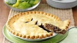 Classic Tourtière - While most major cities are bilingual to an extent, the majority of Quebecois speak French as their daily language. But with French life, comes French food! And there is so much to choose from! However, I've taken a French classic, a Tourtière or meat pie, and given it a kosher twist, changing the pork to beef, and taking the lard and butter out of the pie crust. It may not be authentic, but I'm sure you'll love it just the same! This pie will serve 6-8 people