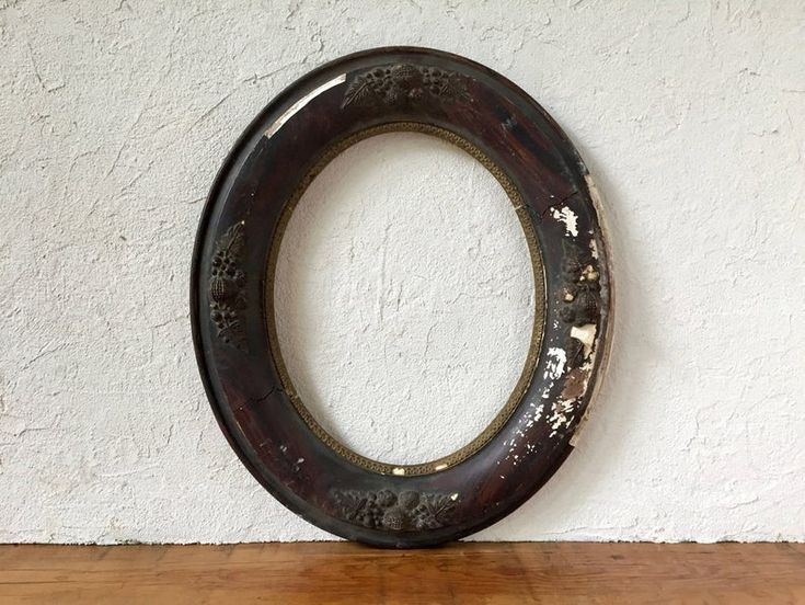 Antique oval picture frame farmhouse picture frame fits