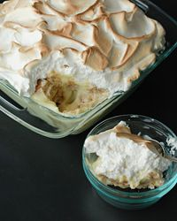 "Miss Myra's Banana Pudding from Food & Wine.  Andrew Zimmern calls it ""the most famous, most amazing, best tasting banana pudding recipe in the world."""