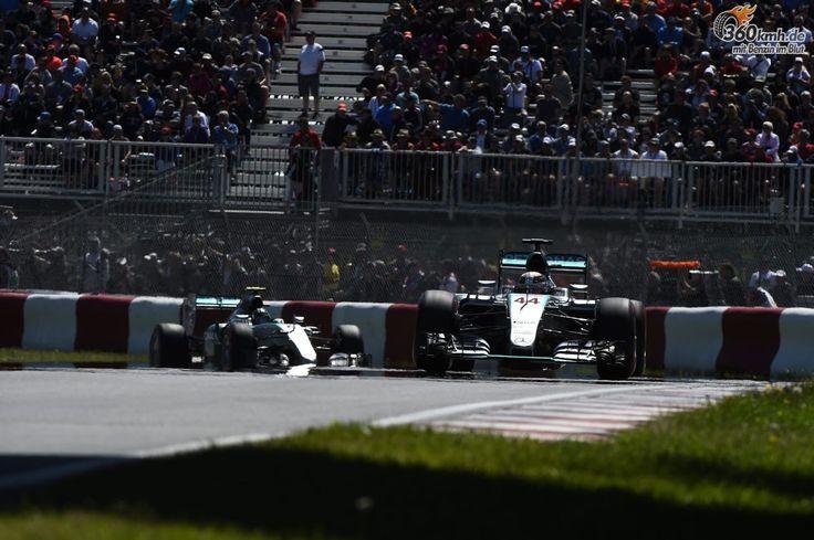 GP Kanada - Klarer Sieg für Mercedes mit Hamilton als Leader