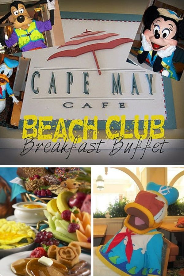 Cape May Cafe - Beach Club Breakfast - The Blogorail
