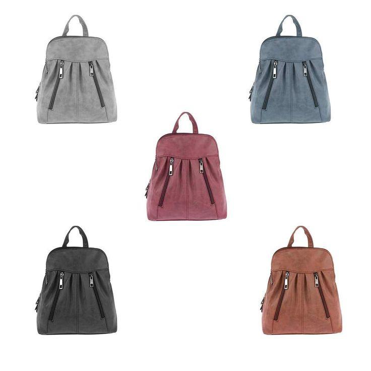 DAMEN RUCKSACK Cityrucksack Tasche Stadtrucksack Schultertasche Backpack Daypack… – Italyshop24.com