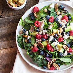 ... salad recipe more avocados spinach spring mix salad recipes berries