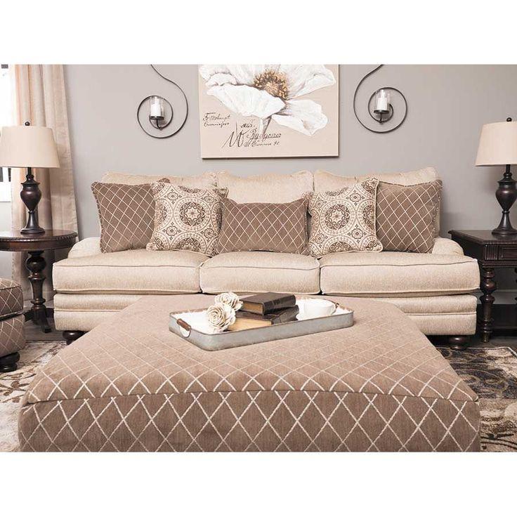 American Furniture Warehouse -- Virtual Store -- Milan Beige Sofa