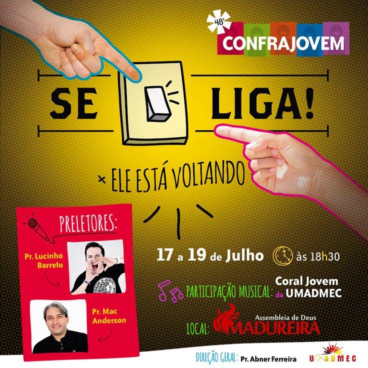Arte p/ Facebook. Cliente: Igreja Evangélica AD Madureira.