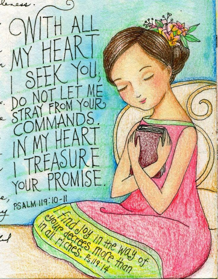I have sought You with all my heart;  don't let me wander from Your commands. I have treasured Your word in my heart so that I may not sin against You. Psalm 119:10-11