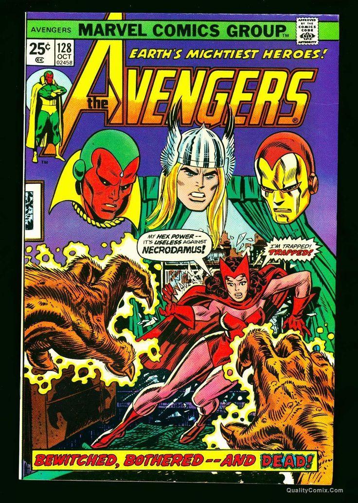 Pin by Stephen J. Snyder on Avengers Avengers comics