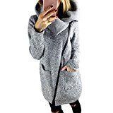 Amazon Angebote Longra Damen Mode Wintermantel Winterparka Mit Kapuze Winter Kapuzenjacke Frauen Lang Parka Zipper Kapuzenpullover…%#mode%