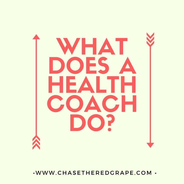 health coach - chase the red grape
