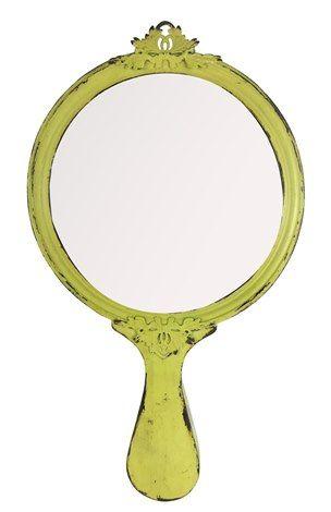 A loja do gato preto espelho de parede amarelo espejo for Espejo vintage plateado