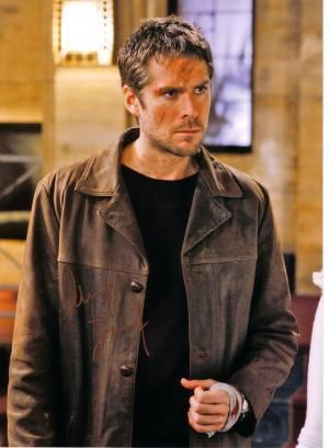 Alexis Denisof as Wesley Wyndam-Price on Buffy & Angel
