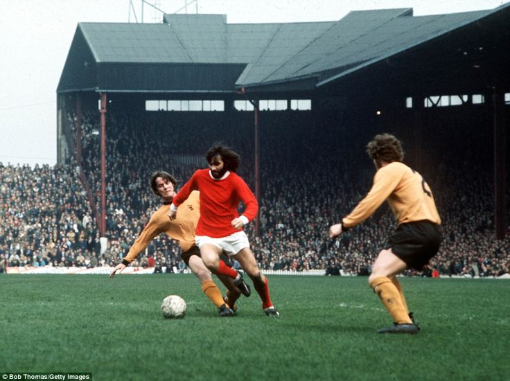 Best was named European Footballer of the Year in 1968 while playing for the Red Devils, o...