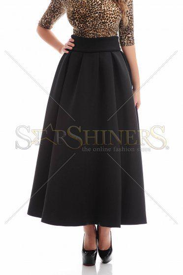 PrettyGirl Darling Black Skirt
