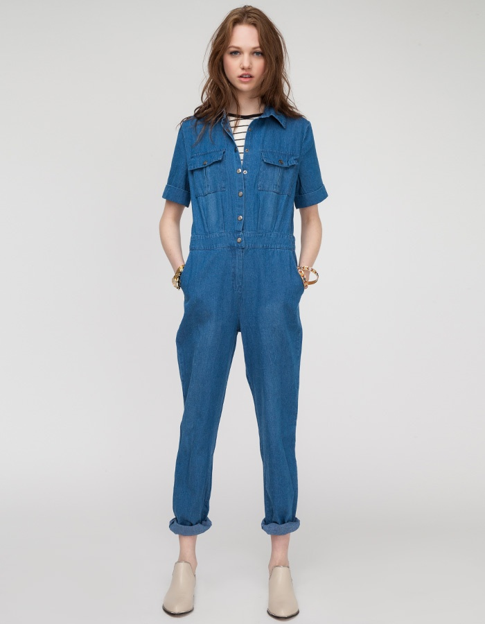 Need Supply Co. Mechanic's Jumpsuit denim L