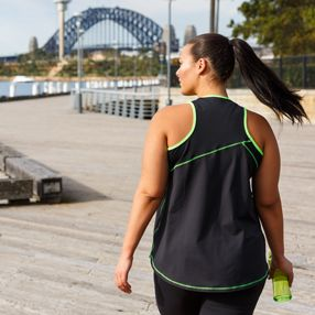 Plus sized activewear created by plus size girls who wanted to feel good whilst exercising. We have both been been active all of our life but struggled to find activewear that made you feel like exercising.  Our tanks have a WIDE razorback giving great coverage, an A LINE fit to suit all body shapes, CURVED HEM to cover your butt and they are manufactured using comfortable MOISTURE-WICKING fabrics. Plus size activewear-sizes 16-26 Made & Designed in Australia www.blitzactive.com.au…