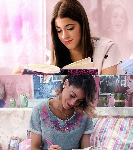 #Violetta thinking about Tomas-#1,and #2She's thinking about Leon.