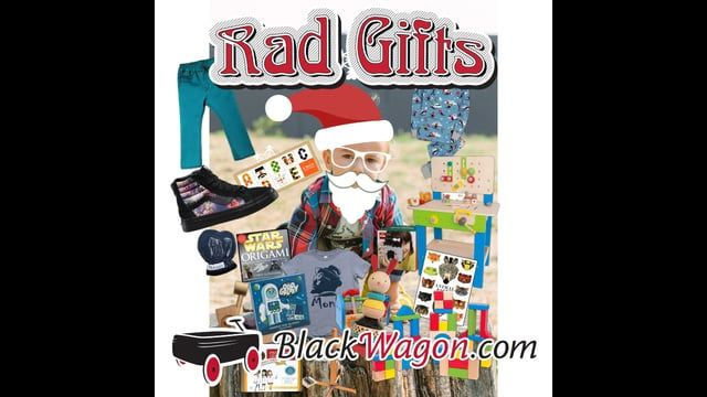 Black Wagon has the coolest gifts for kids this holiday season. Check out our Holiday Gift Guide here - blackwagon.com/shop/holiday-gift-guide.html