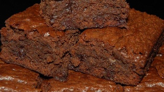 A small banana adds a hint of banana flavor to this fudgy made-from-scratch brownie.