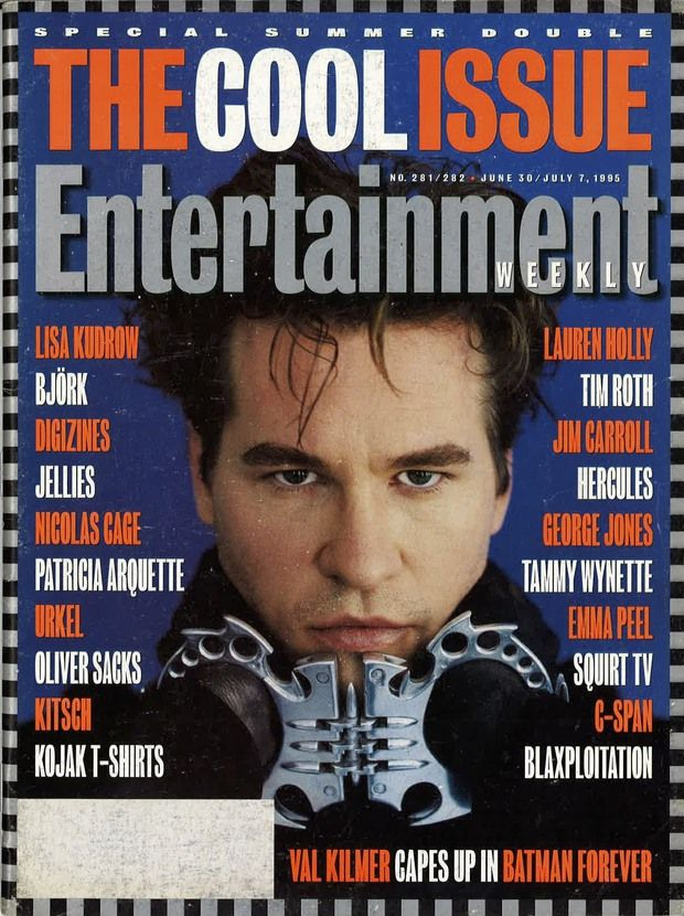 "From ""Kilmer"" to ""kitsch"": One issue of Entertainment Weekly defined ""cool"" in '95 · For Our Consideration · The A.V. Club"