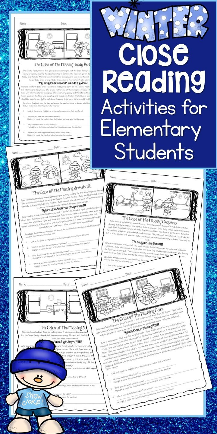 This Is A Wonderful Winter Time Close Reading Unit These Winter Close Reading Passages M Reading Comprehension Reading Comprehension Practice Reading Passages [ 1440 x 720 Pixel ]
