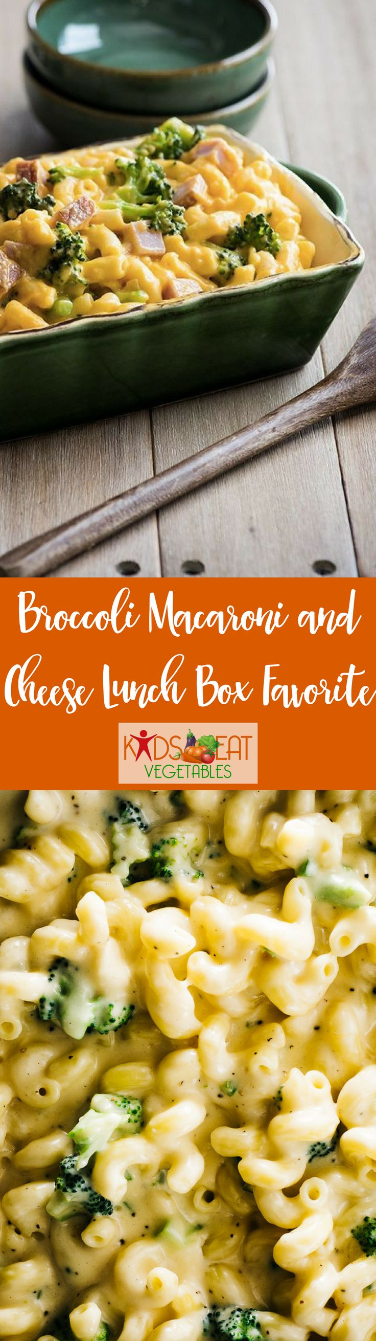 A healthy lunch is so important and this recipe for Broccoli Macaroni and Cheese is sure to be a lunch box favorite. Healthy and easy! Here is the perfect thermos to pack this lunch box favorite. Combine with a fruit, carrot sticks, a small treat and water to make healthy balanced meal. This recipe can be made ahead or the morning of, and by simply changing the ingredient from broccoli to peas or chicken, you can turn this basic recipes into endless lunch options!