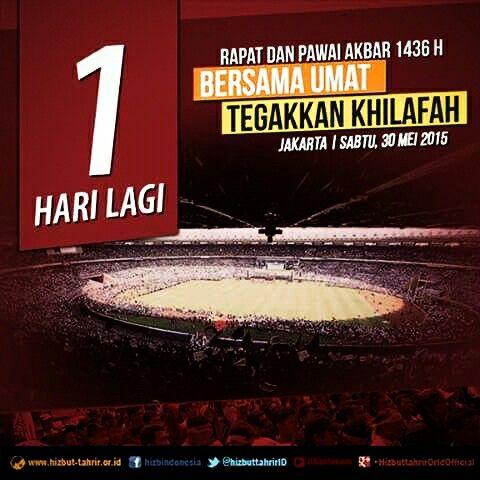 #RapatdanPawaiAkbar   TOMORROW  JAKARTA I COME