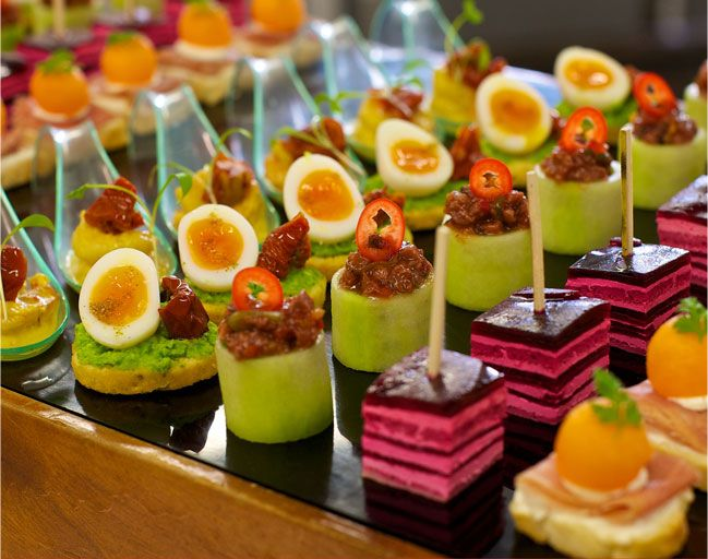 Best 25 canapes catering ideas on pinterest meat for Canape caterers