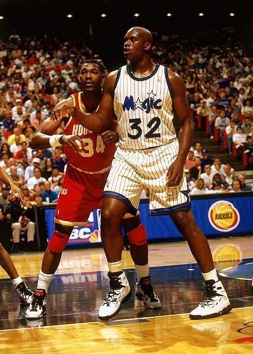 info for 6c084 9d184 Shaquille O Neal Orlando Magic Vs Hakeem Olajuwon Houston Rockets   NBA    Basketball finals, Basketball teams, Basketball