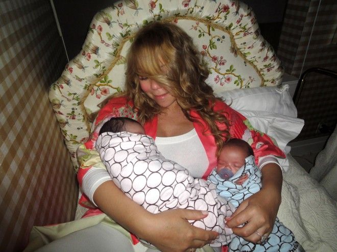 At the ripe age of 42, Mariah Carey welcomed twins with her husband Nick Cannon.
