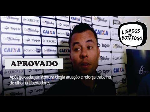 BotafogoDePrimeira: Após goleada, Jair elogia atuação e reforça trabal...