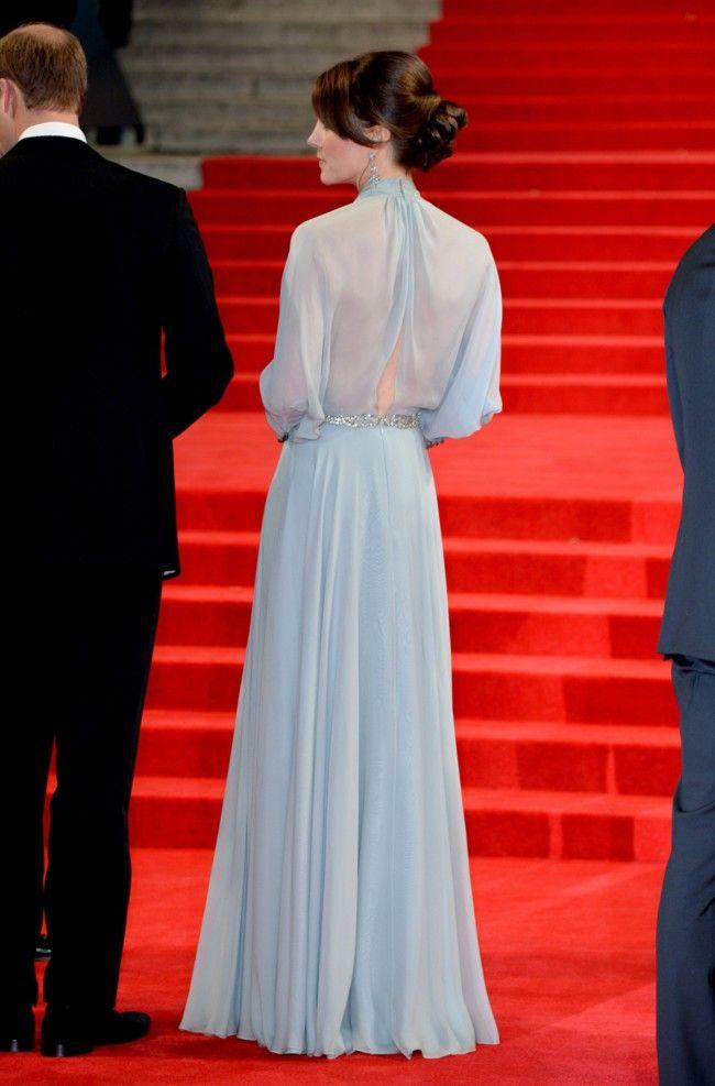 Kate Middleton Jenny Packham Estreno Spectre 3