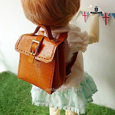 1/6 YOSD BJD saco YOSD mochila acolchoado saco boneca saco Dollfie Luts DOD AOD amarelo
