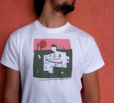 #DiggsDigsThis. T Shirt for UCT School of Architecture - Renee Rossouw -