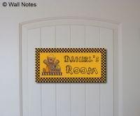 Door Name Plates - Wall Notes