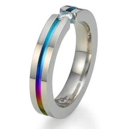 pride wedding band - Gay Wedding Ring