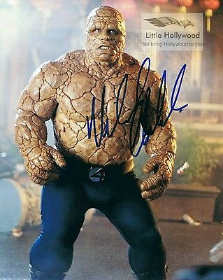THE-THING-Benjamin-Grimm-Fantastic-4-8x10-Autographed-RP-lustre-Photo