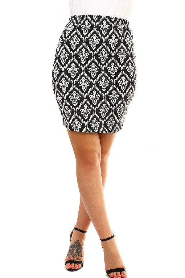 936e789cc3b Dámská ornamentální sukně ✓ Skladem ✓ Dnešní sleva -39% ✓ Přesné rozměry  pro snadný nákup ✓ Expresní doručení ✓ Dámská krátká pouzdrov…