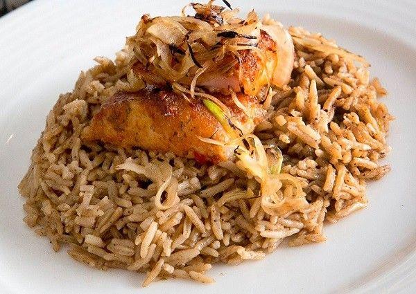 طريقة عمل رز الصيادية البني بدون سمك طريقة Recipe Cooking Chicken Recipes Food Recipies