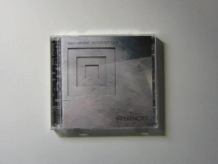 """Maquetación del CD """"Inferències"""", de Sergi Sirvent - Octopussy Cats.  Fresh Sound New Talent. Año 2012."""