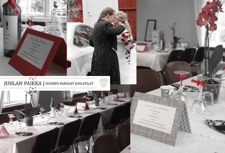 Juhlan Paikka | Weddings | Häät. Psst. Käykää lukemassa blogauksemme aiheesta hääleikit ja hääohjelma: http://www.juhlanpaikka.fi/haaohjelma-persoonalliset-haaleikit/
