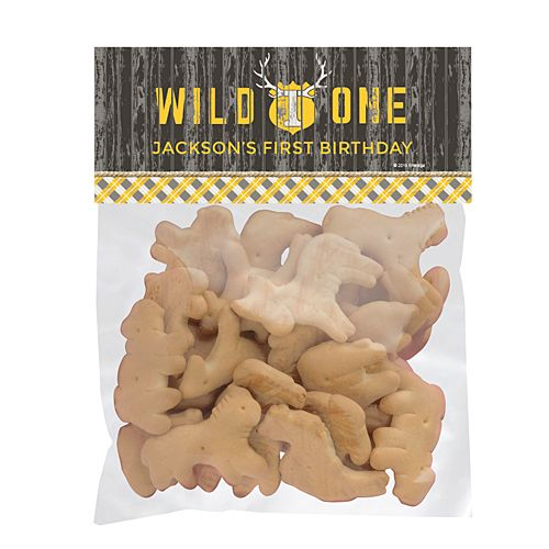 Wild One Personalized Favor Bags